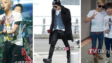 G-Dragon 教你「T恤過長」的 10 種長高密技!