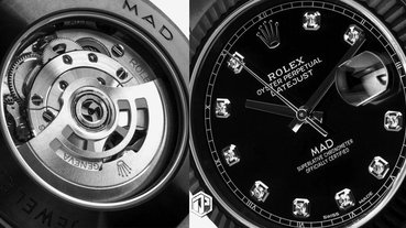 MAD Paris 為Rolex Datejust 打造黑化鑽石定製款式!