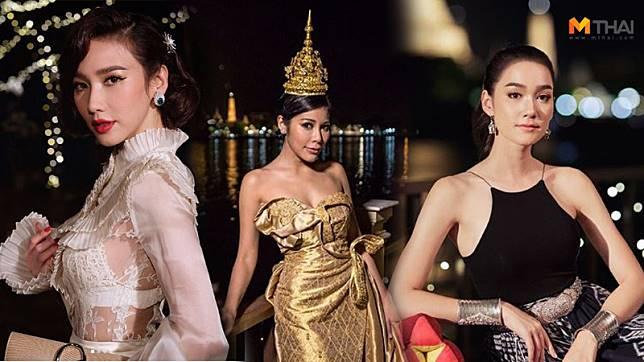 ไม่มีคำว่าเชย! แหวนแหวน ปวริศา จัดปาร์ตี้วันเกิด ธีมชุดไทย สวยอลังการทุกคน