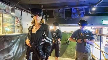 2019台北西門町【VAR LIVE虛擬實境體驗館/維亞娛樂】槍戰遊戲