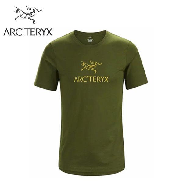 【ARC'TERYX 始祖鳥 男 Arc'word T-shirt 休閒Tee《叢林綠》】24013/短袖T恤/有機棉/運動衫