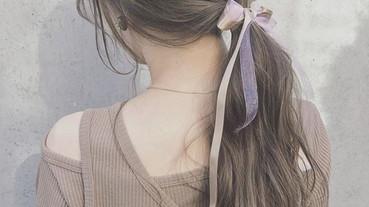 用高明度染髮大幅提升可愛度!甜美女孩髮型大整理