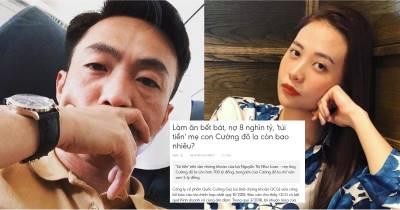 """Status lạ của Đàm Thu Trang trước tình trạng """"vỡ nợ"""" của Cường Đôla: Thảo nào dính không rời!"""