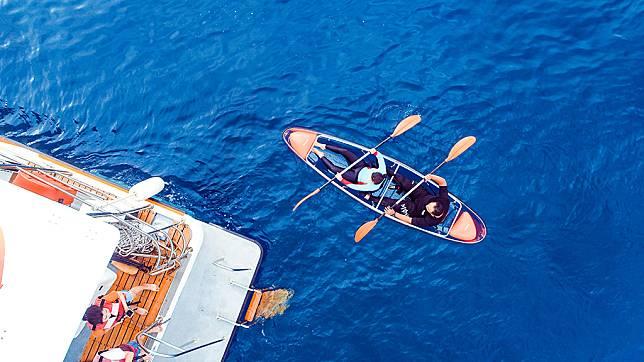小琉球水上活動推薦-小琉球透明獨木舟