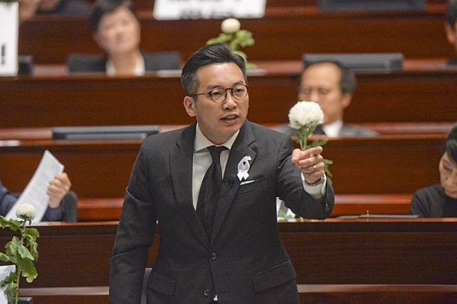 楊岳橋說,建制派有責任向大家交代流會的原因。