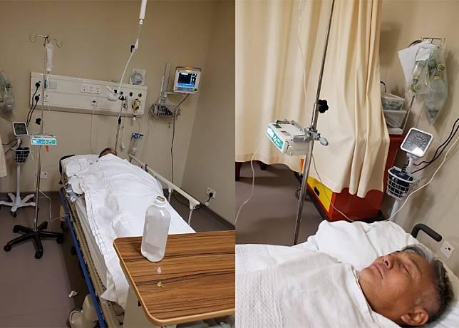 吳岱融被林韋辰送入醫院。