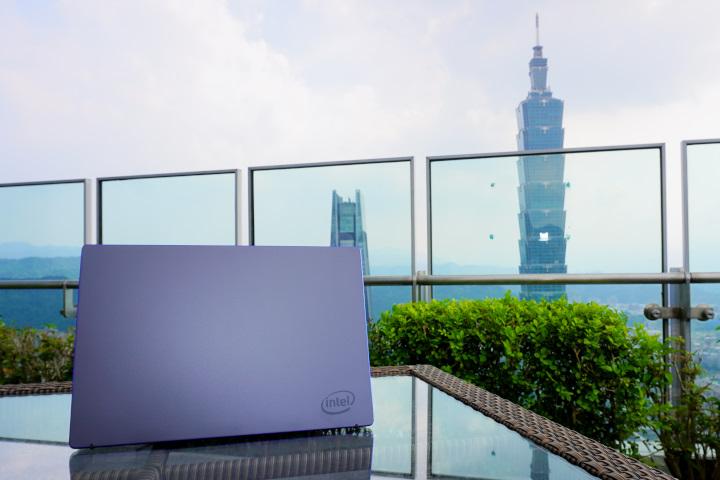 Intel特別將全球僅有20台的Tiger Lake筆記型電腦試作機帶來台灣。