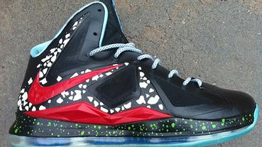 """新聞分享 / Nike LeBron 10 """"Area 72"""" 外星人概念轉移"""