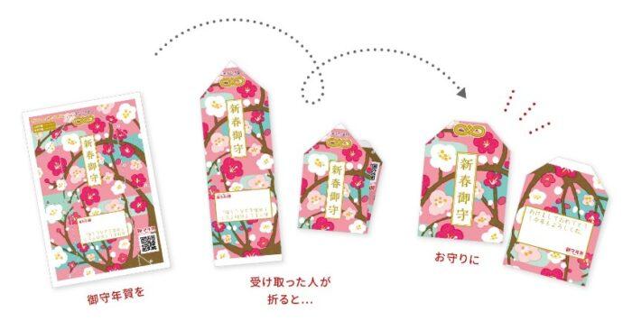 日本郵局2020賀年明信片_御守賀年明信片