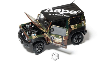 AAPE BY *A BATHING APE x SUZUKI Jimny 模型車推出!