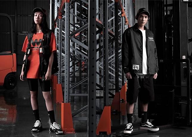 今季更邀請演員顏卓靈及新進男子組合Mirror成員楊樂文參與拍攝造型照。(互聯網)