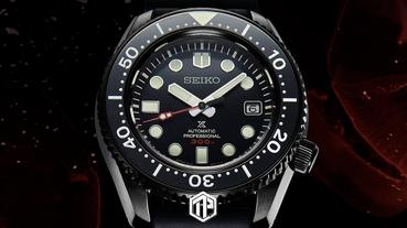限量僅 600 枚!Seiko推出全新Prospex 高級潛水錶黑魂版本