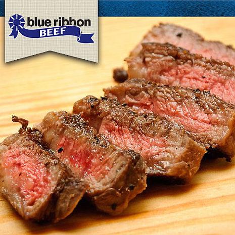 【豪鮮牛肉】藍絲帶黑安格斯精品級無骨牛小排3片(200G+-10%/片)