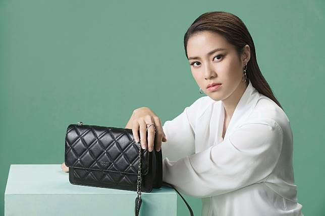 Danielle Crossbody Bag為翻蓋的設計,充裕的空間,能足夠收納錢包、手提電話等日常隨身物品。 (互聯網)