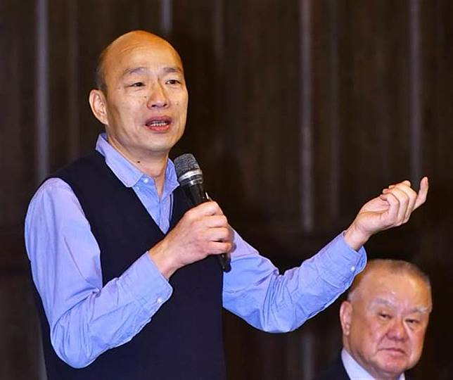 不像市長?他12字形容韓國瑜遭譏:崩潰了