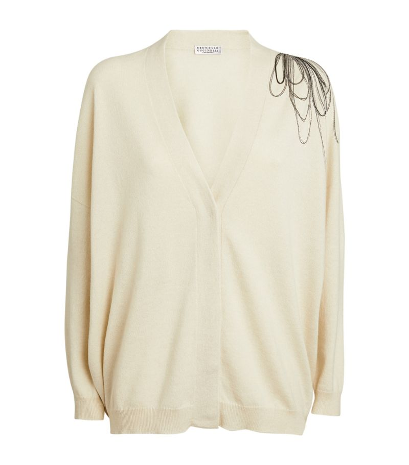 Cut from the softest, most decadent cashmere, this Brunello Cucinelli cardigan epitomises just why t