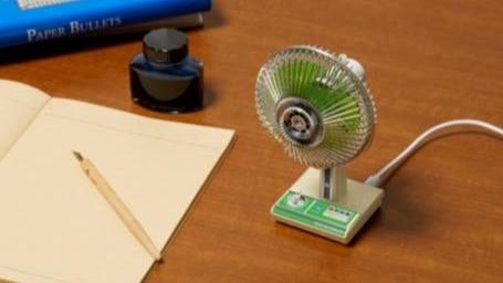 超復古!昭和時期的usb電風扇 無違和縮小版神還原