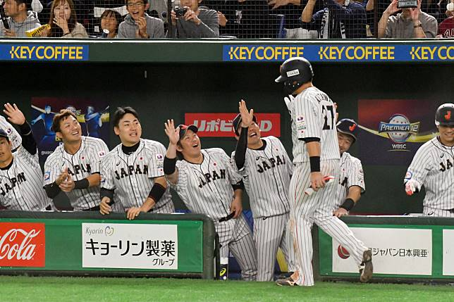 ▲世界棒球12強,日本隊得分。(圖/記者葉政勳攝 , 201