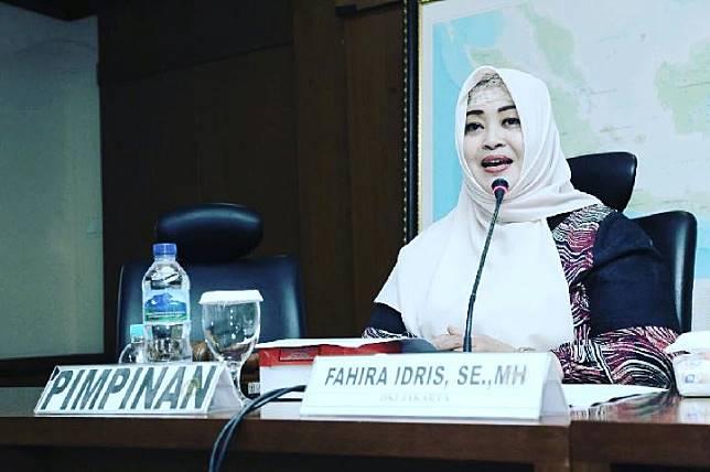 Wakil Ketua Komite I DPD RI Fahira Idris.