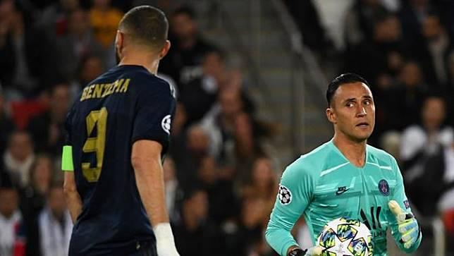 Bahagianya Keylor Navas Bawa PSG Permalukan Real Madrid
