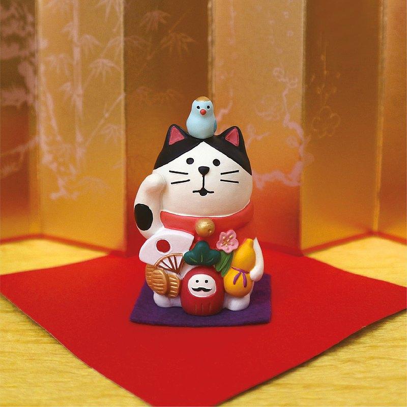 日本DECOLE Concombre - 招福開運系列:祝願滿願成就,生意繁盛,厄除開運。