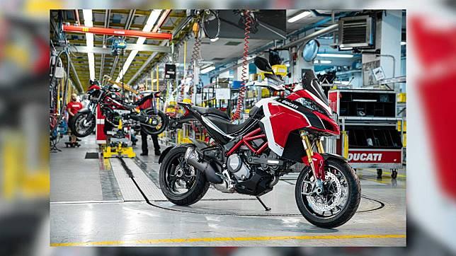 Ilustrasi Ducati Multistrada yang akan diluncurkan kembali dalam jumplah 100.000 unit.