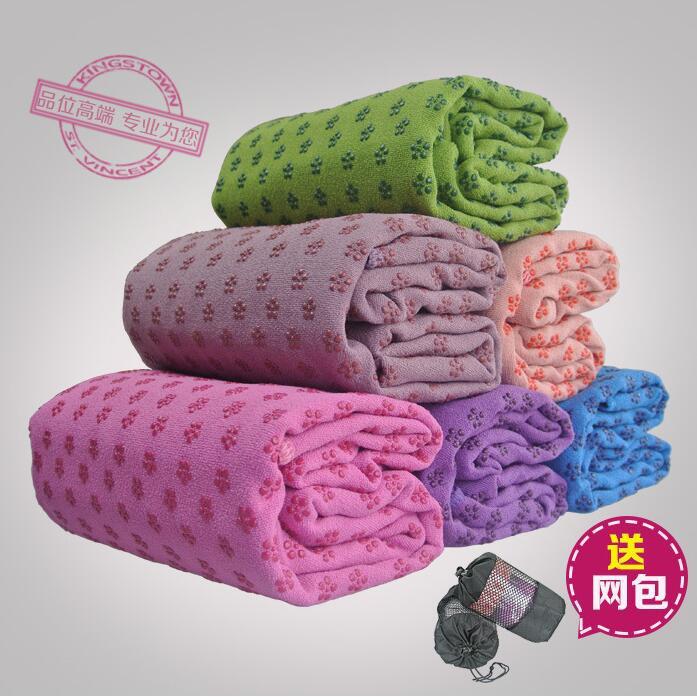 yoga瑜珈加厚加寬瑜伽墊巾鋪巾毯子愈加墊布墊毛巾防滑鋪墊子瑜伽毛毯