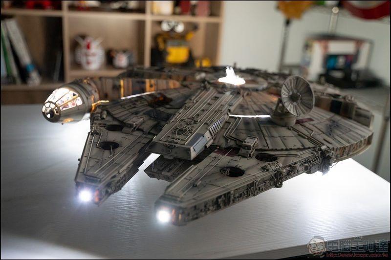 千年鷹號 Millennium Falcon 1:1 模型開箱 - 24