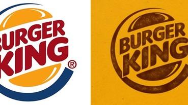 """漢堡王""""三色""""時代已去,新包裝看起來清新又覆古"""