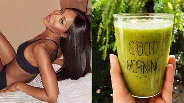 49歲最辣超模娜歐蜜坎貝兒公開超機密養生食譜!每日必喝神秘「綠果汁」、一天吃超過14種保健食品...