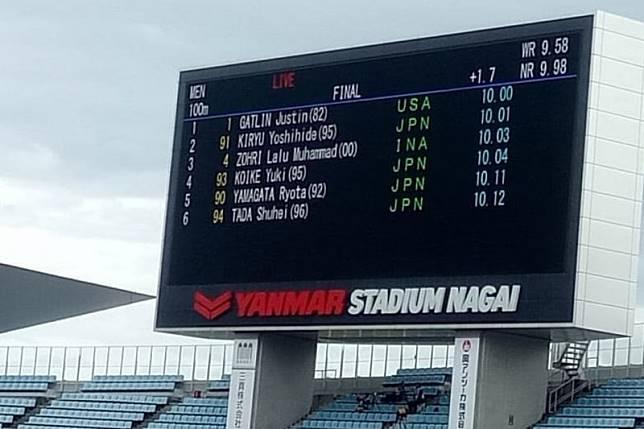 Lalu Zohri finis ketiga di Jepang dan pertajam rekornas
