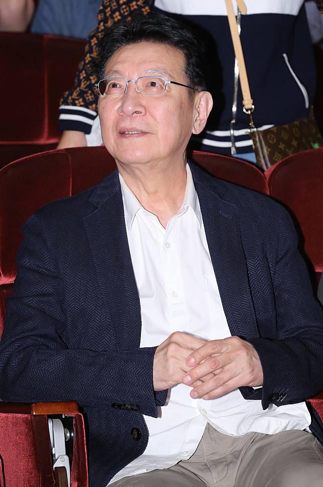 趙少康特別前來欣賞鄭怡的演出。記者許正宏/攝影