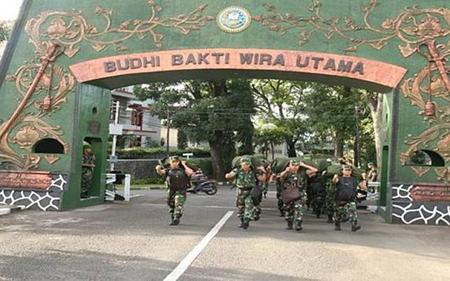 Ilustrasi-Salah satu kegiatan di Secapa TNI AD/tniad.mil.id