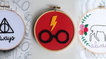 哈利迷限定!手作徽章絕對讓你們全部都想打包~