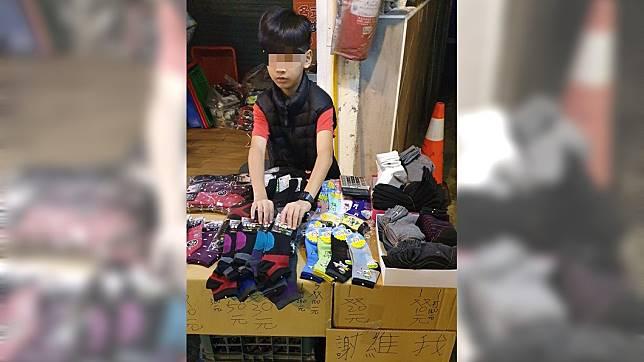 鈞鈞年僅11歲,卻很獨立、懂事。圖/翻攝自承天府環島慈善會臉書