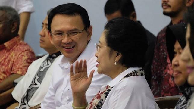 Basuki Tjahaja Purnama alias Ahok dan Megawati. twitter.com/basuki_btp