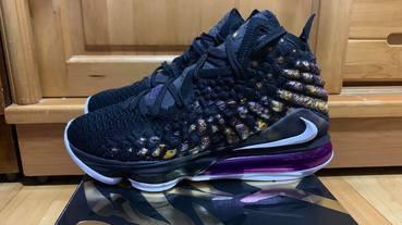 網友 游偉志 鞋評 / Nike LeBron 17