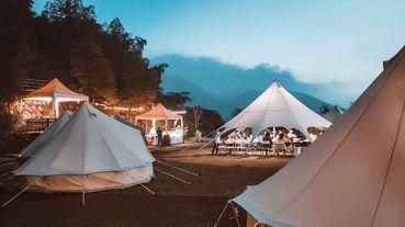 台灣主題露營正夯!當奢華旅遊結合藝術、高海拔山林或露營車等特色,讓感官體驗全面升級