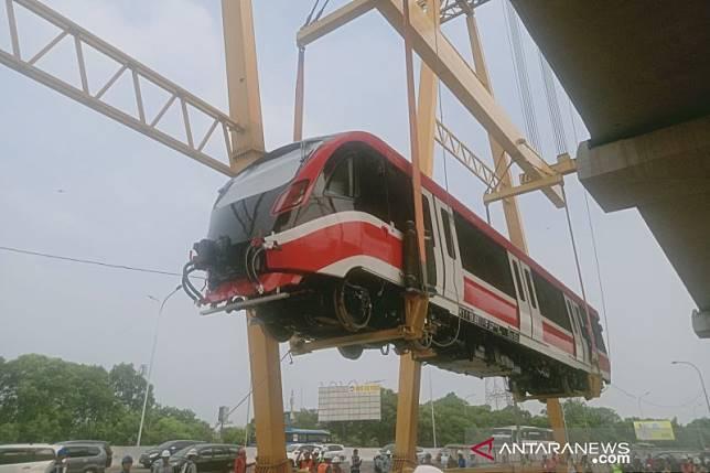 Adhi Karya terima pembayaran keempat proyek LRT Rp1,4 triliun
