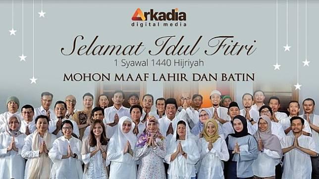 Ucapan Selamat Hari Raya Idul Fitri 1440 H Arkadia Digital Media