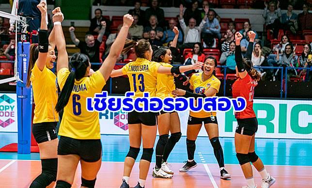 เชียร์ต่อรอบ 2! เช็กคิวแข่งวอลเลย์สาวไทย ศึกชิงแชมป์เอเชีย 2019