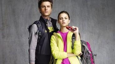 FILA OUTDOOR系列 斑斕色彩搭配輕量保暖素材 時尚、保暖、輕量兼具