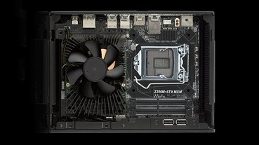 ASRock Z390 DeskMini GTX迷你電腦更新,2.7公升機身硬塞旗艦Core i7處理器與 GeForce GTX 1080顯示卡