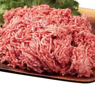 ブラックアンガスビーフと国産豚肉の合挽きミンチ
