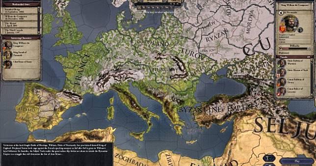 歐戰策略模擬《十字軍之王2》Steam限時免費,領取後永久收藏