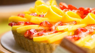 日本超浮誇水果派咖啡廳 喜歡水果派的你一定要衝!
