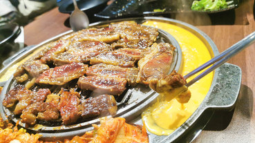 (市政府捷運站)信義區韓式燒肉-woosan韓式烤肉店,多人套餐,單點,全程桌邊服務,聚餐地點,小菜可免費續點