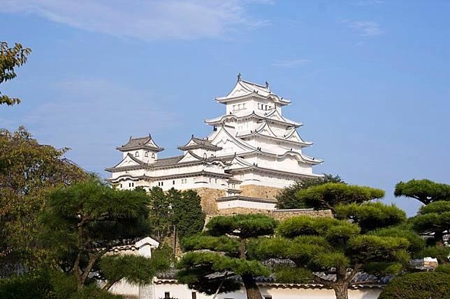 被稱為「日本第一名城」嘅姬路城,亦係世界遺產之一。(互聯網)