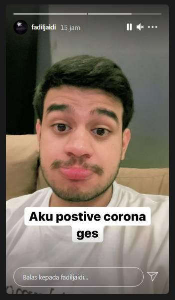 Fadil Jaidi kabarkan dirinya positif Covid-19