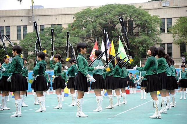 ▲北一女綠色制服的由來。(圖 / 翻攝自臉書「北一女中」)